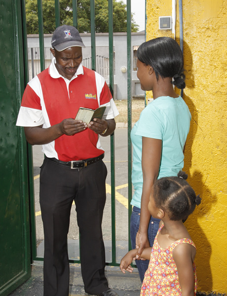 Safe and secure - Security guard